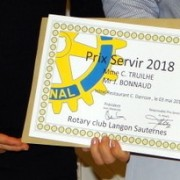 Prix servir 2018 ROTARY Club