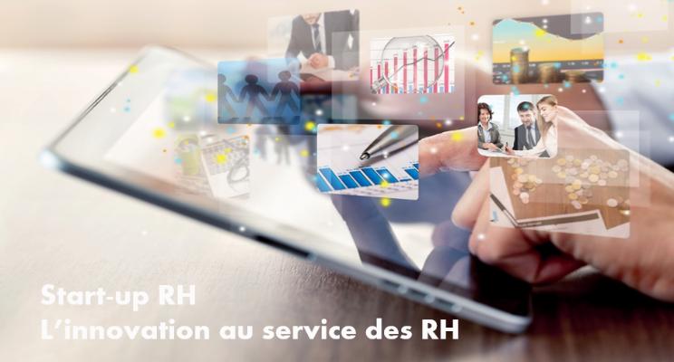 Photo illustrant les RH et l'innovation créer par les start up