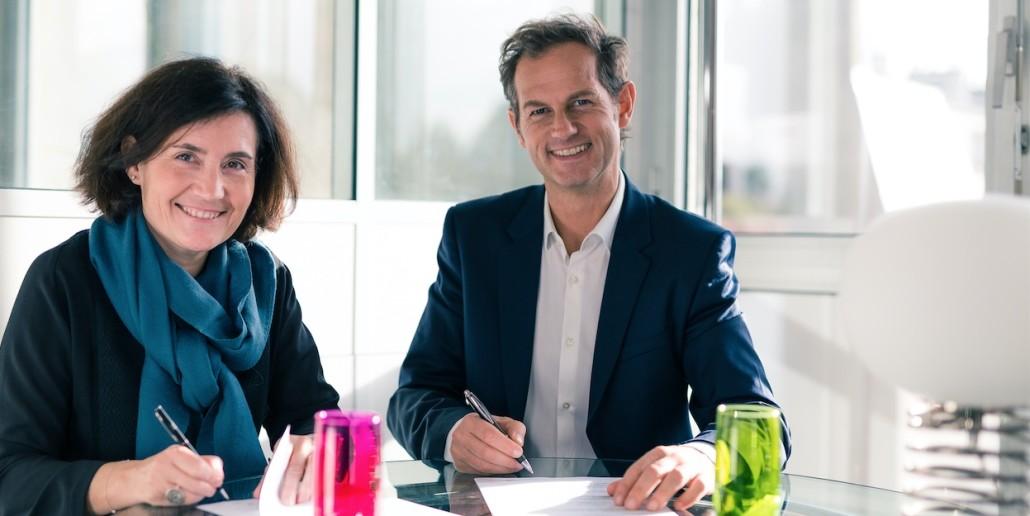 Valérie Garau Edgar Grospiron partenariat Anthéa RH rebondir réussir