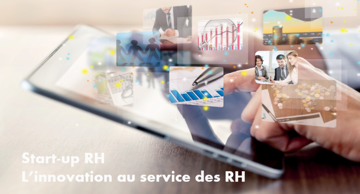 Photo illustrant les RH et l'innovation créer par les start up