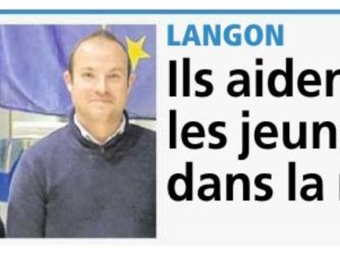 Premiere page Le REPUBLICAIN Sud Gironde Article ANTHEA REAJ